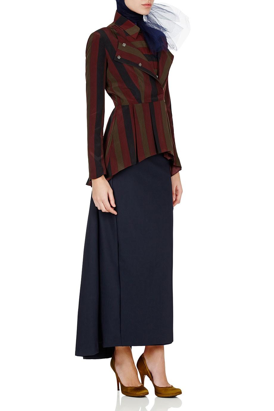 Diana-Kotb-Atlas-Jacket-Stripe-Time-Piece-Skirt-Navy-01