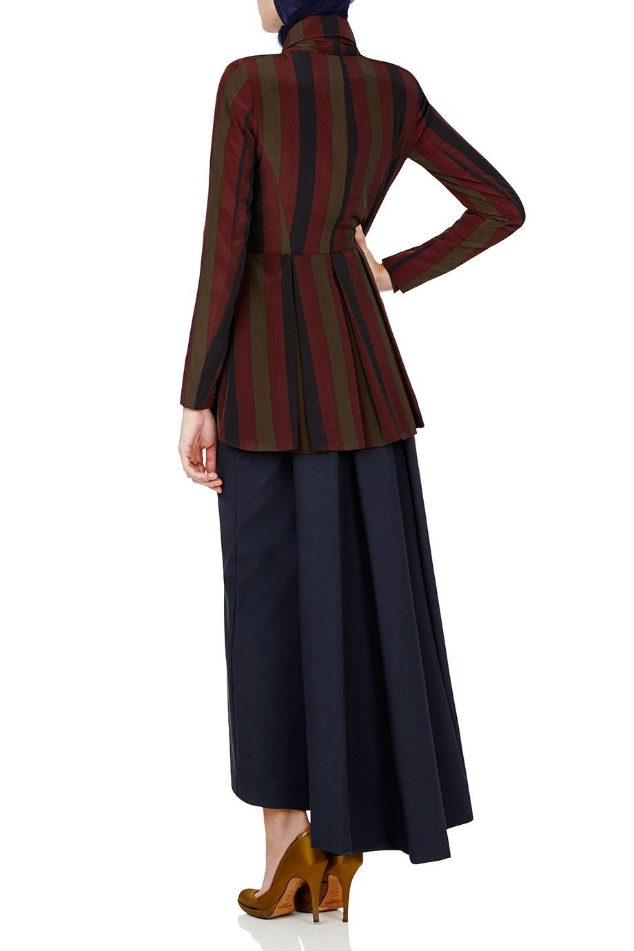Diana-Kotb-Atlas-Jacket-Stripe-Time-Piece-Skirt-Navy-02