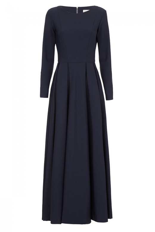 Diana-Kotb-Touring-Dress-Navy-01