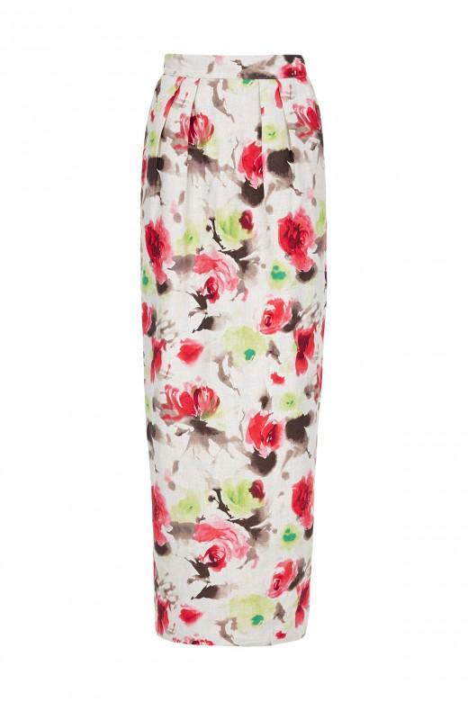 Ruins-skirt-floral